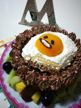 簡単♡お誕生日ケーキ♡ ぐでたま