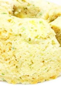 レンジで簡単◎洋風青のりおから蒸しパン