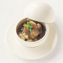 豚肉と根菜のスープ