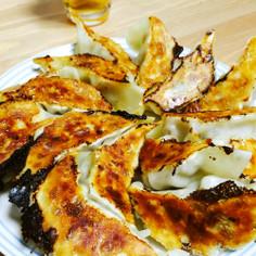 神戸牛オイルでシンプルジューシー焼き餃子