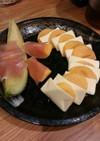 前菜 おつまみ 柿チーズ