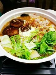 ★白菜と豚肉の味噌バター鍋★の写真