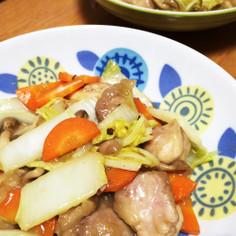 ★白菜と鶏肉の甘酢あんかけ