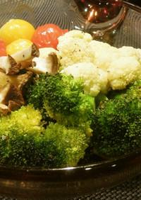 ベジ♪カラフル野菜のオーブン焼き