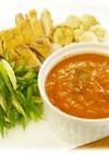 京野菜と鶏肉のソテー 京風トマトソース