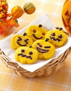 ハロウィン★かぼちゃクッキー
