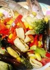 調味料3つ!海鮮とお野菜の白ワイン蒸し