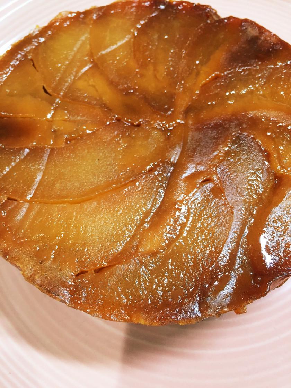 タルトタタン風りんごのケーキ