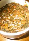 大根の葉とシーチキンのおかず味噌