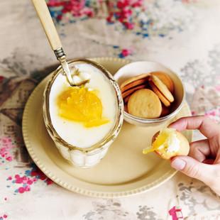桑原奈津子さんの「豆腐のふるふるレアチーズケーキ」
