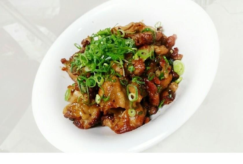 これイケる♪~豚肉のカリカリ焼き☆~
