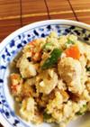 レンコンと鶏のササミ入りおからの炒め煮