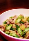 簡単◆美味しい◆かぶとオクラの豚肉炒め