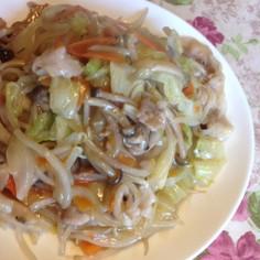 中華丼や中華焼きそばに、中華風野菜炒め♪