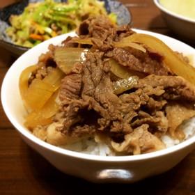 牛丼⋆豚丼に♡(*万能つゆ*)