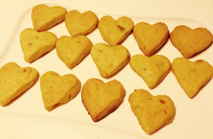 ★ハロウィンに★簡単かぼちゃクッキー