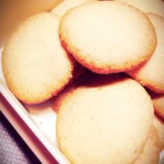 ホロホロ♪甘さ控えめココナツクッキー