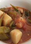簡単!鶏肉と里芋のガンボスープ