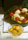 野菜パウダーの野菜団子