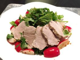 ダイエット用、豚ヒレ肉の水煮