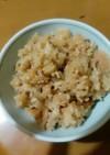 ∮鶏肉ときのこの炊き込みご飯∮