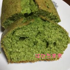 ズボラ!ほうれん草のパウンドケーキ
