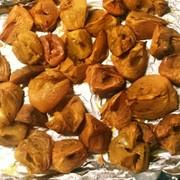 旨味凝縮!柿の乾燥焼き:柿大量消費にもの写真