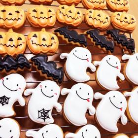 ハロウィン♪アイシングクッキー♪