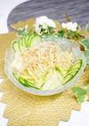 揚焼き パリパリ 麺サラダ【牛蒡サラダ】