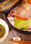 ふっくらさんで作る簡単豚キャベツ無水鍋。