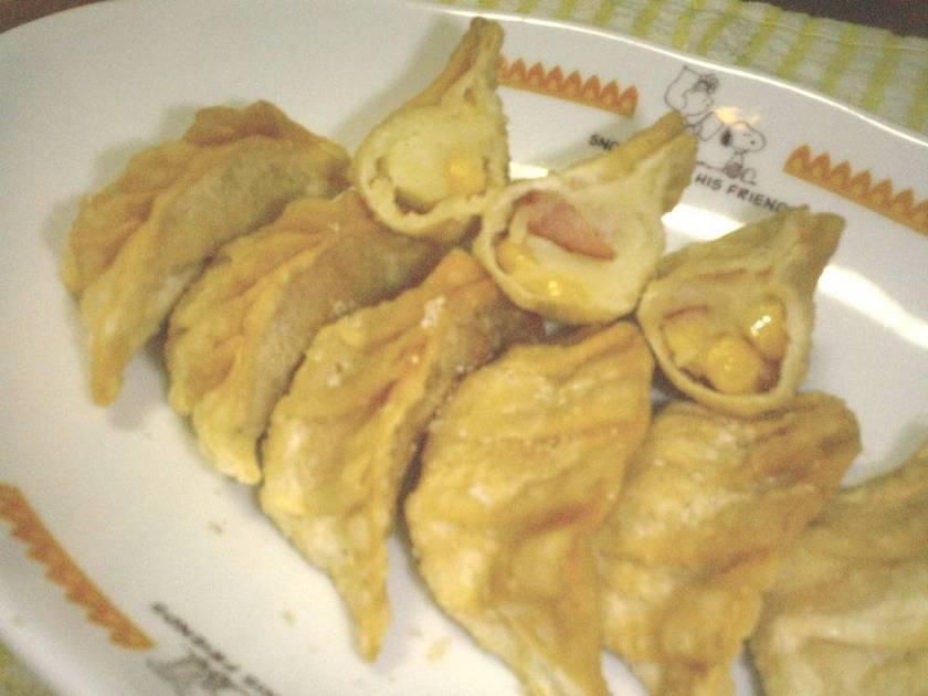 マッシュポテトでパリパリ揚げ餃子