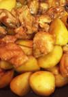 鶏もも肉とジャガイモの照り焼き☆