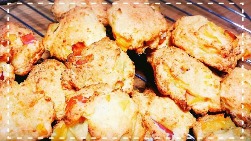 HCMでりんごと豆腐のソフトクッキー
