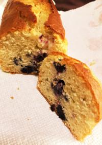 簡単ヘルシー♡ブルーベリーパウンドケーキ