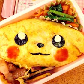 ポケモン☆ピカチュウ☆簡単キャラ弁