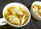 時短★リメイク★餃子【餃子スープ】^^♪