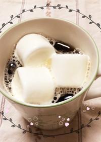 おうちカフェ♪マシュマロコーヒー