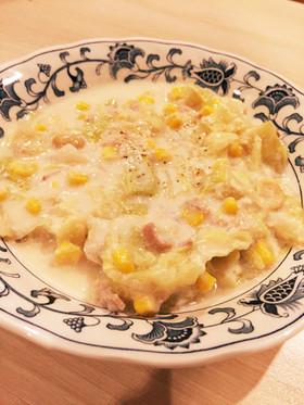 離乳食にも!ライスミルクのキャベツスープ