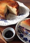 豆腐でヘルシー☆ベイクドチーズケーキ
