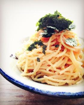 たらこ(明太子)スパゲティ☆