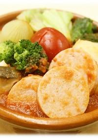 ポークソーセージのトマト鍋