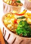野菜たっぷりおからのケークサレ☆マクロビ