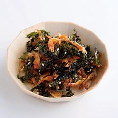 さくらえびと地のりの韓国風当座煮