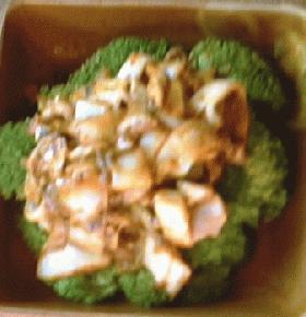 イカとキムチのマヨネーズ炒め