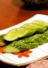 簡単◆美味しい◆きゅうりのからし漬け
