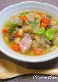 ダイエット中に*食前に食べるスープ
