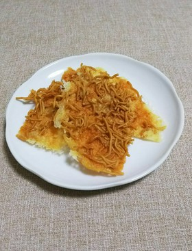 チーズ煎餅withベビースター