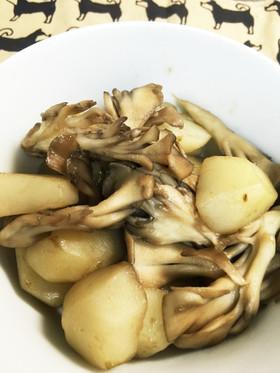 菊芋と舞茸のバター醤油炒め