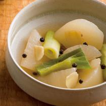 大根とねぎのスープ煮