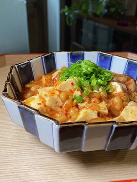 麻婆納豆豆腐〜冬のダイエットに〜
